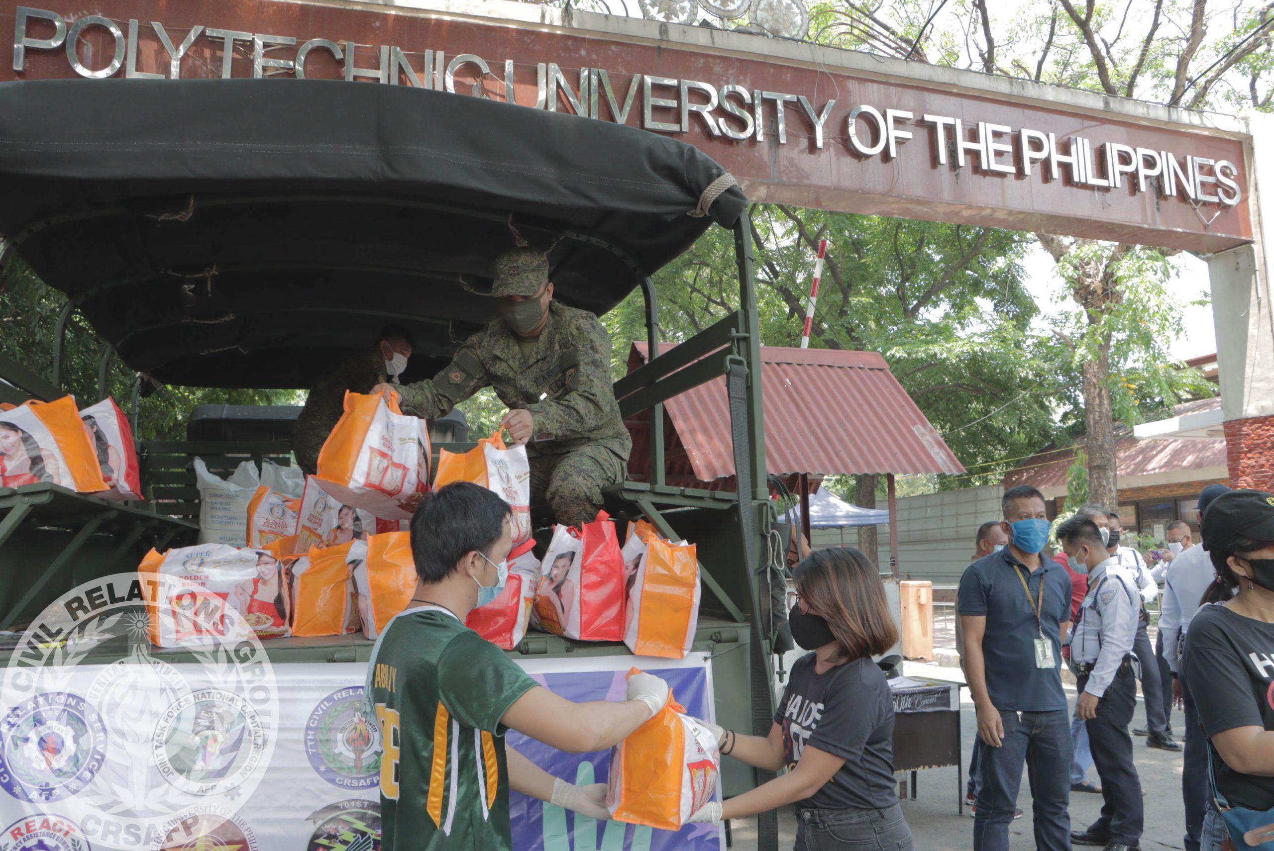KKSK Katuwang para sa Kapwa PUP Relief Goods Operation