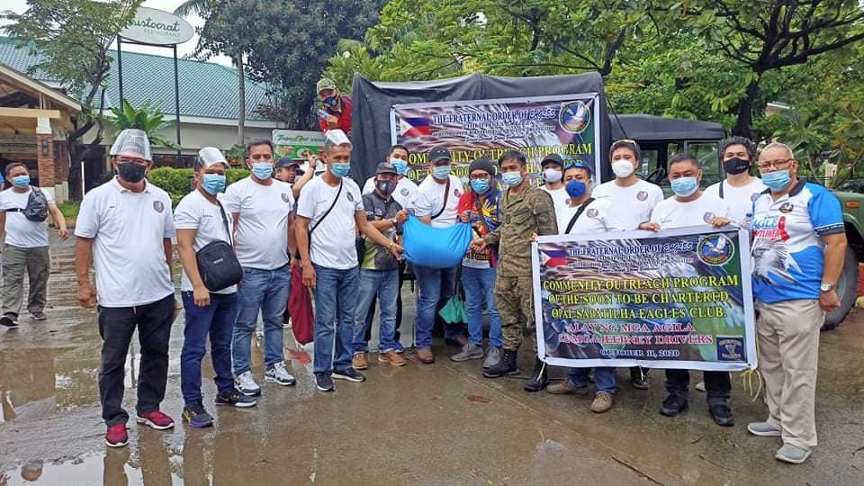The Eagles, Philippines conducted relief goods operation to jeepney operators of  Sanggandaan and Muñoz Fresco Caloocan City